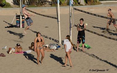At Huntington Beach, City Beach December 28, 2011