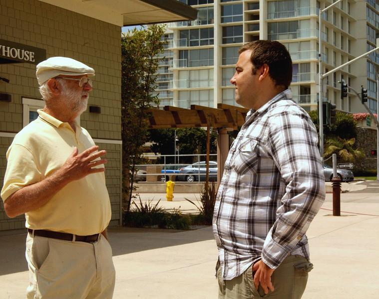 """[4x5"""" crop] Dad & Kenny"""