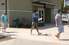 Guys practicing the walk