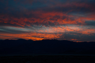 Sunset  - Death Valley National Park - California - USA