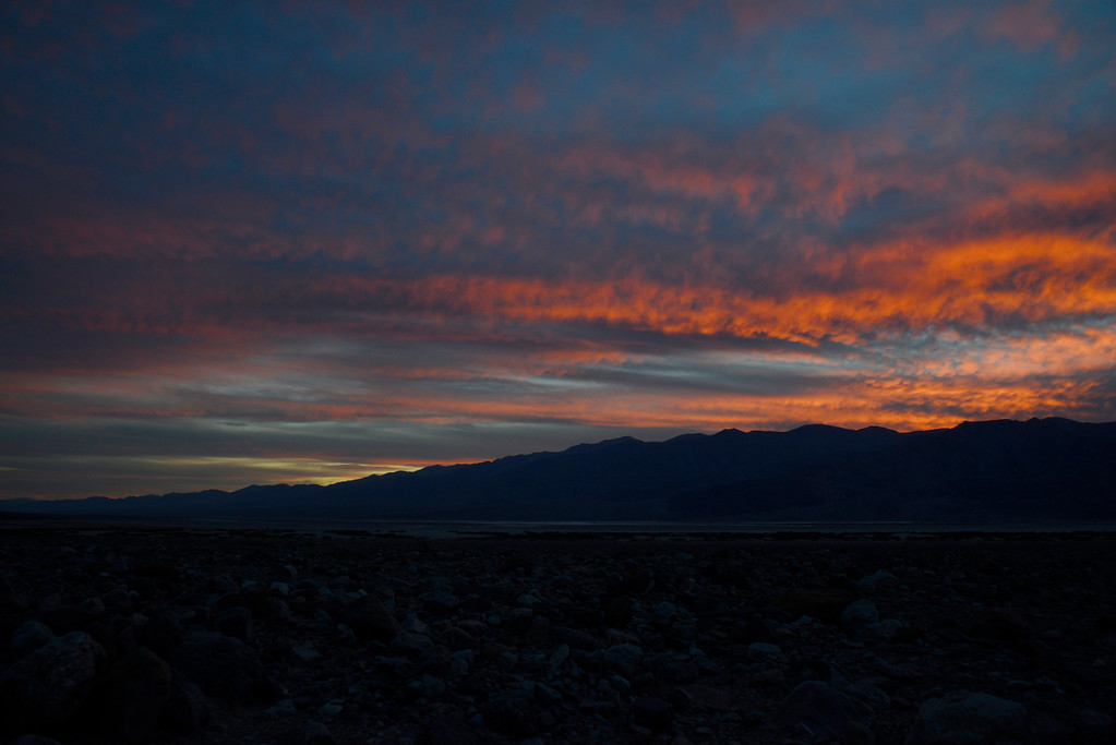 Sunset - Death Valley National Park - California - USA