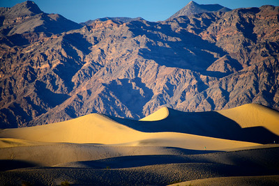 Mesquite Flat Sand Dunes - Death Valley National Park - California - USA