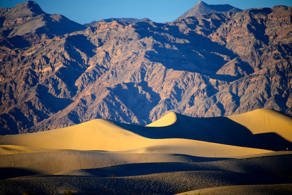 Mesquite Flat Sand Dunes - Death Valley National Park - California - USA