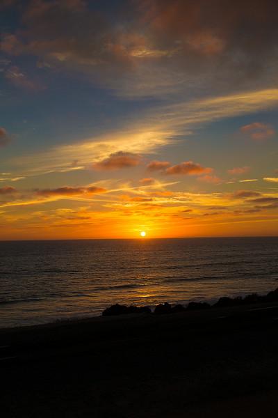 Del Mar Sunset August 2014