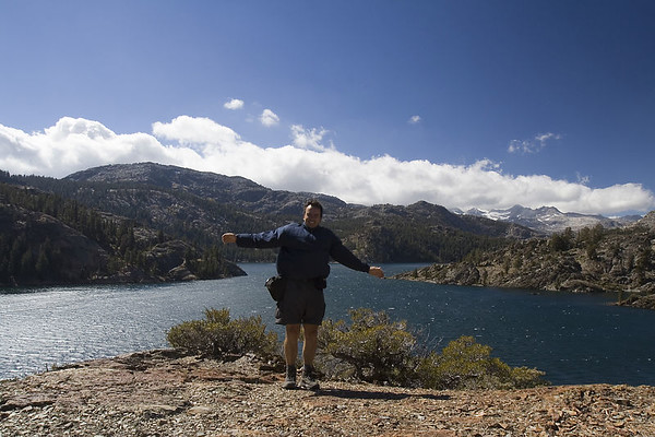 Windy day at Gem Lake (Part of Ansel Adams Wilderness).