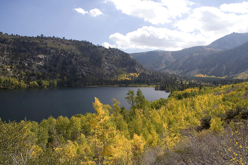 Silver Lake is nestled at the base of Carson Peak. It is home of the oldest fishing and vacation resort in the Sierra.