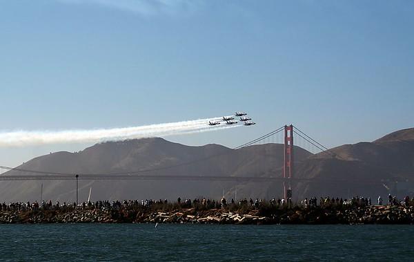 Blue Angel F/A-18 Hornet.
