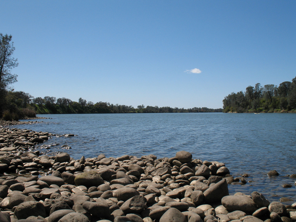 """""""Daytime Lake View""""<br /> Lake Natoma, Folsom, CA. <br />  Image Copyright 2006 by DJB.  All Rights Reserved."""