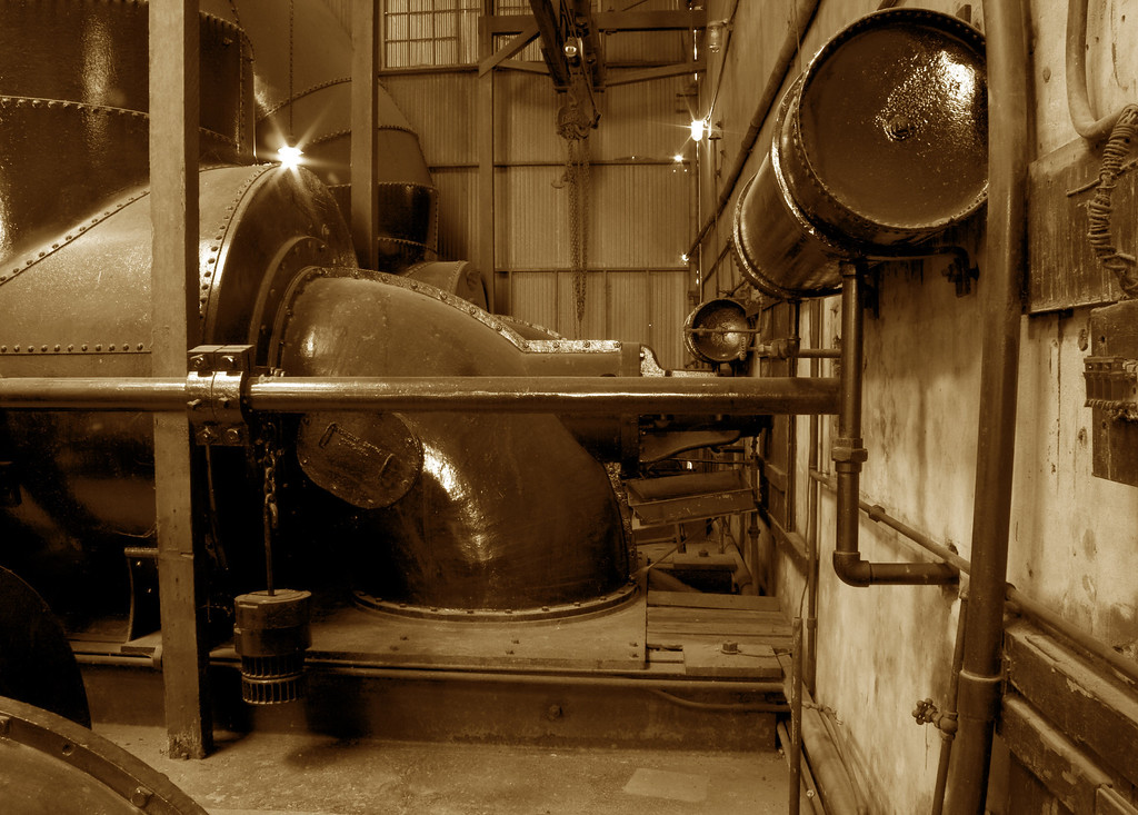 Powerhouse, Folsom, CA.  Image Copyright 2011 by DJB.  All Rights Reserved.
