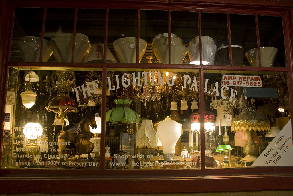The Lighting Palace, Folsom, CA.  Image Copyright 2011 by DJB.  All Rights Reserved.
