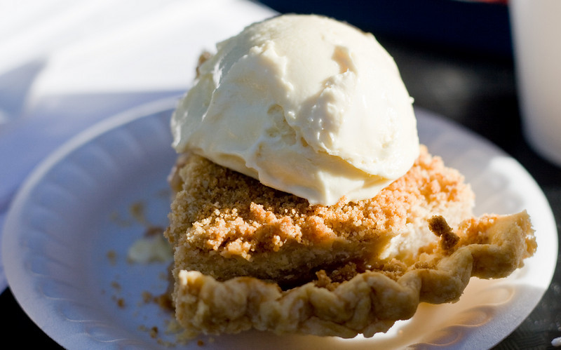 French Apple Pie at Bodhaine Ranch.  Camino, CA. Image Copyright 2009 by DJB.  All Rights Reserved.