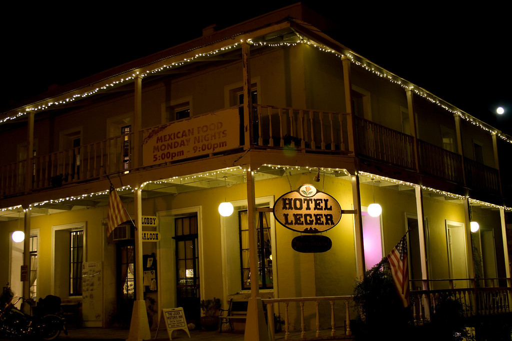 Hotel Leger, Mokelumne Hill, CA.   Image Copyright 2010 by DJB.  All Rights Reserved.