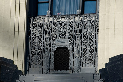 Hollywood, California  architectural detail
