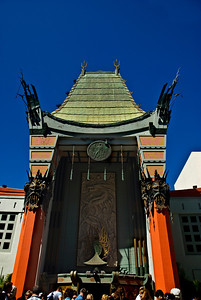 Grauman's Chinese Theatre  Hollywood Boulevard  Hollywood, California