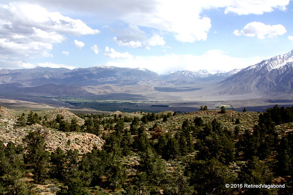 Horton Camp View of Bishop Valley