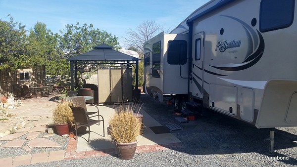 Home for five nights - Jojoba Hills RV Park