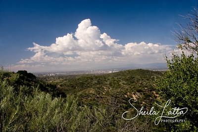 Looking toward Irvine.  El Toro Base is in the distance
