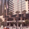 View of Hotel on Street - Nature's Sunshine Convention - Long Beach, CA  Aug. 1-5, 1990
