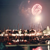 Fireworks Off Queen Mary - Nature's Sunshine Convention - Long Beach, CA  Aug. 1-5, 1990