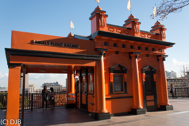 Angels Flight, Los Angeles, CA.