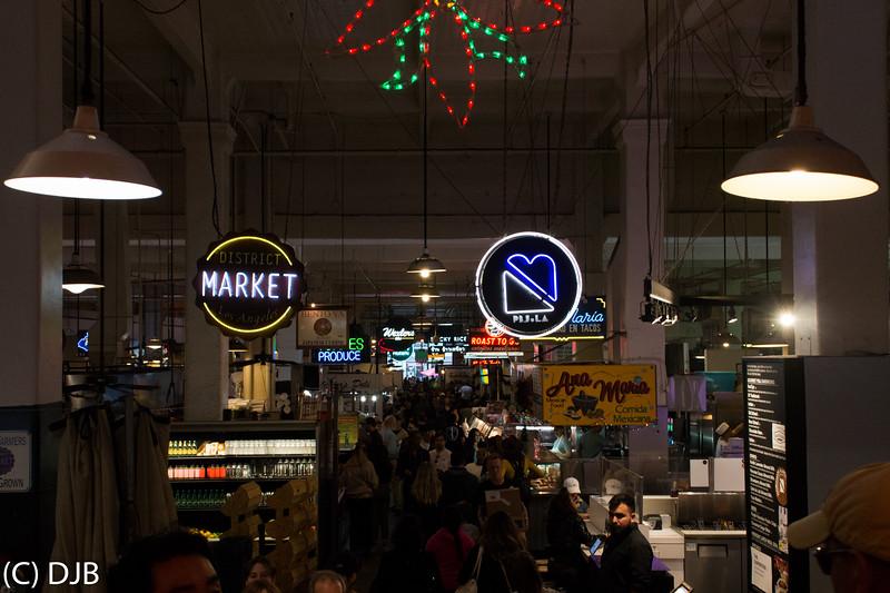 Grand Central Market, Los Angeles, CA.