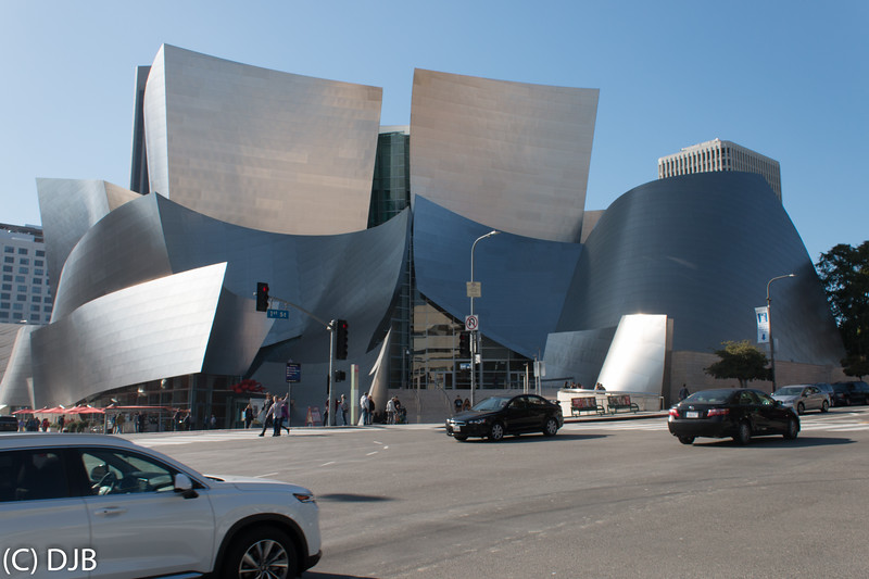 Walt Disney Concert Hall, Los Angeles, CA.