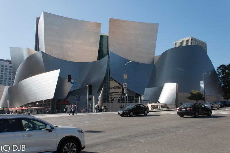 Walt Disney Concert Hall, Los Angeles, CA.