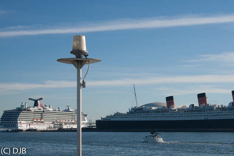 RMS Queen Mary, Long Beach, CA.