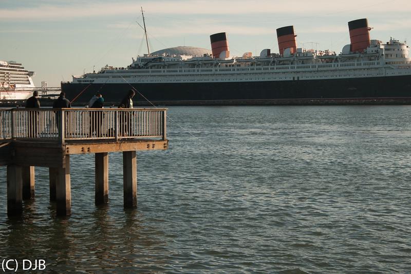 RMS Queen Mary, Long Beach, CA.