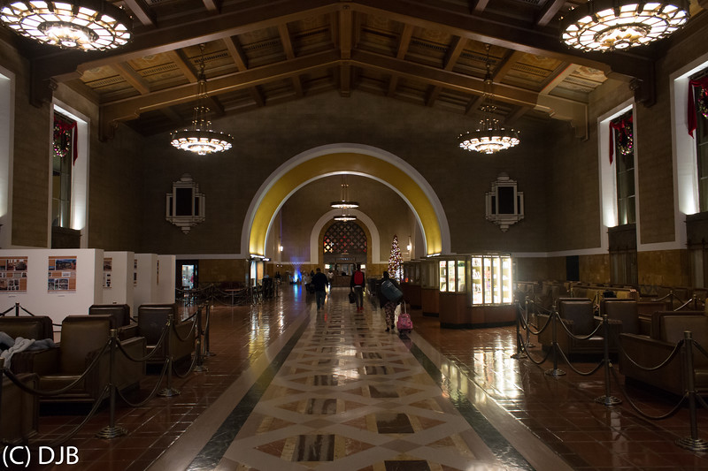 Union Station, Los Angeles, CA.