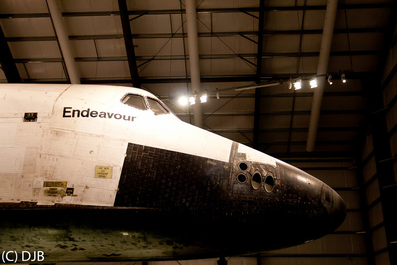 """Space Shuttle Endeavour at the California Science Center, Los Angeles, CA.  Image Copyright 2012-2013 by DJB.  All Rights Reserved.   <a href=""""http://www.DaveXMasterworks.com"""">http://www.DaveXMasterworks.com</a>"""