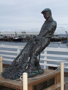 """The Fisherman"" by artist Jesse Corsaut"