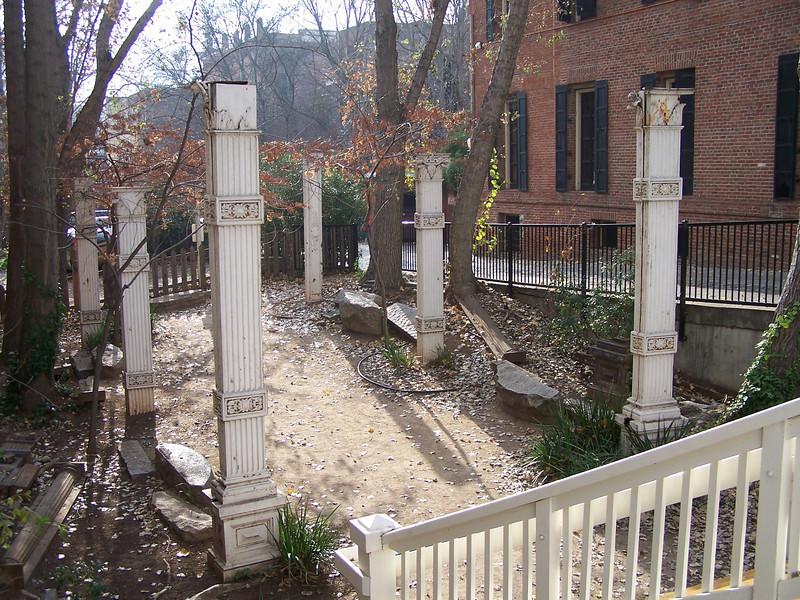 Old Sacramento ruins- between 114 and 122 J Street