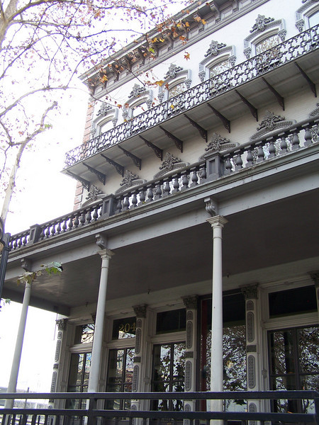 Ornate historic building at Old Sacramento