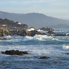 Coast view along famous 17-Mile Drive
