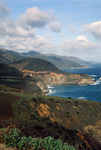 The Bixby Bridge--Big Sur