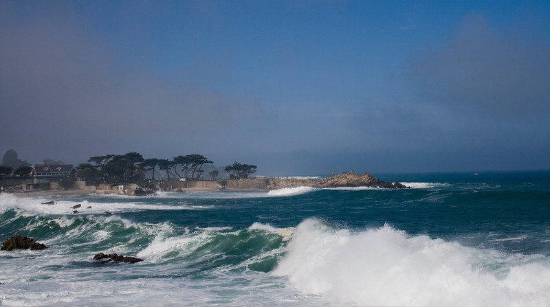 Lovers' Point, Pacific Grove, CA. Image Copyright 2010 by DJB.  All Rights Reserved.