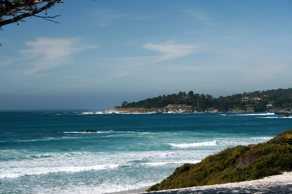 Carmel Beach, CA. Image Copyright 2010 by DJB.  All Rights Reserved.