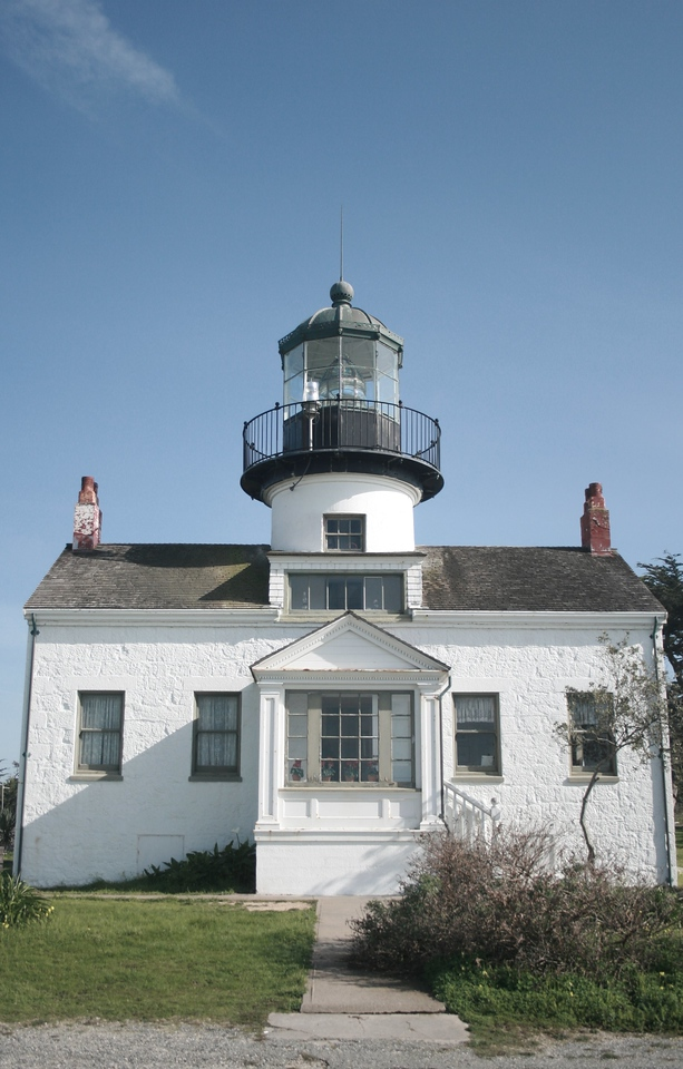 Point Pinos Lighthouse, Pacific Grove, CA. Image Copyright 2010 by DJB.  All Rights Reserved.