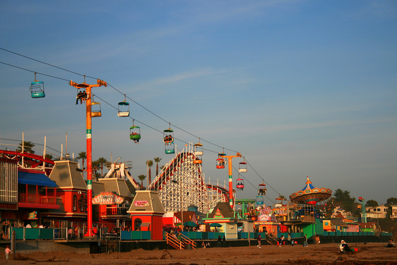 Santa Cruz Beach Boardwalk, Santa Cruz, CA.  Image Copyright 2010 by DJB.  All Rights Reserved.