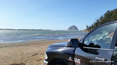 Workhorse visits Morro Beach