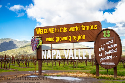 The Napa Valley Sign
