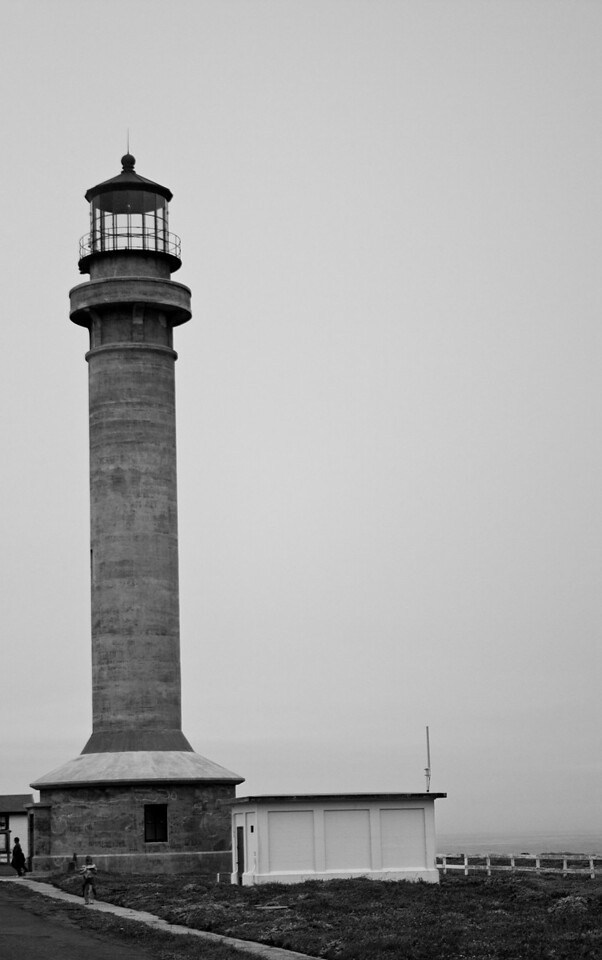Point Arena Light Station, Point Arena, CA. Image Copyright 2010 by DJB.  All RIghts Reserved.