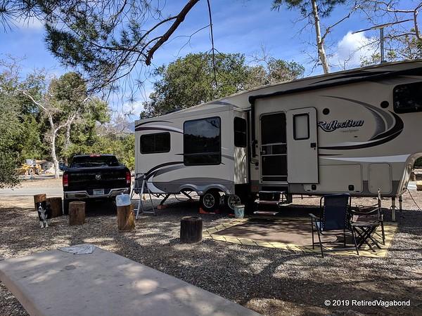 Our Campsite at O'Neill Park