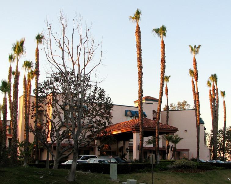 CA Hotel Architecture - Orange County Airport Hotel Terrace Drive  2-16-07