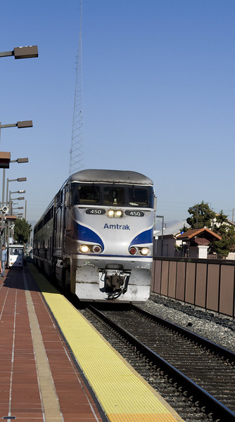 Amtrak Station, Santa Ana, CA.  Image Copyright 2011-12 by DJB.  All Rights Reserved.
