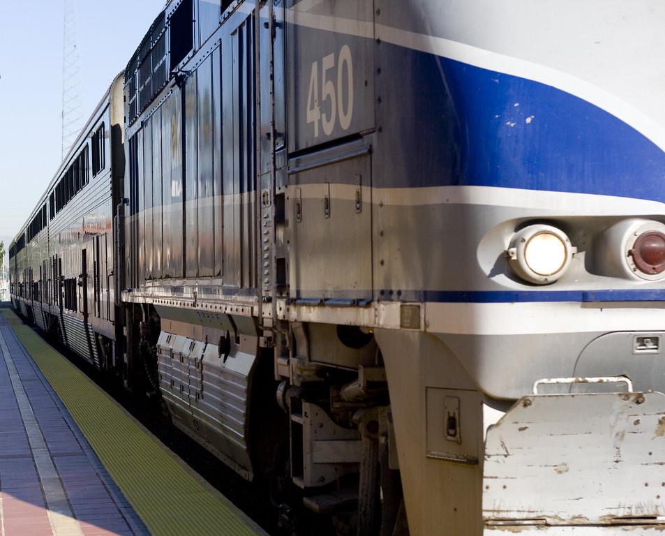 Amtrak Station, Santa Ana, CA.  Image Copyright 2011-12 by DJB.  All Rights Reserved.