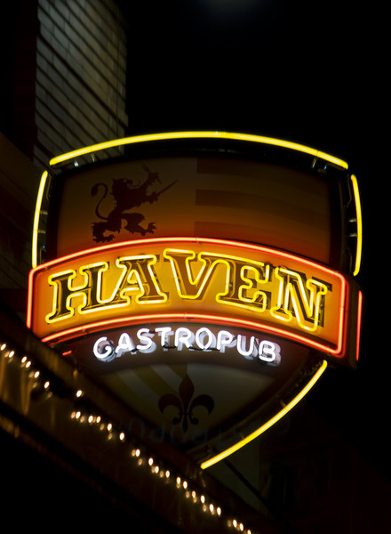 Haven Gastropub, Old Town Orange, CA on December 27, 2011.  Image Copyright 2011-12 by DJB.  All Rights Reserved.