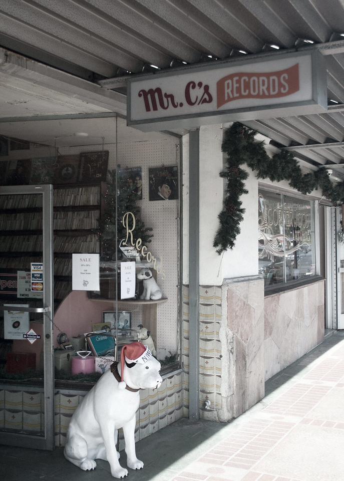Mr C's Rare Records, Orange, CA. Image Copyright 2009 by DJB.  All Rights Reserved.
