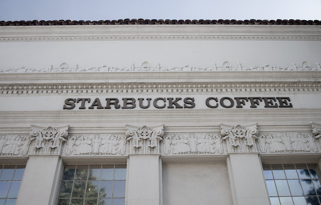 Starbucks Coffee, Orange, CA. Image Copyright 2009 by DJB.  All Rights Reserved.
